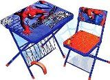 Spiderman by Marvel Children's Activity Table & Chair Set WN200487