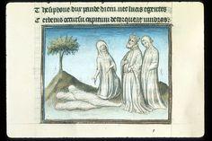 Publius Papinius Statius Thebais , with the argumenta antiqua; Achilleis, Francja, ok. 1405, f62