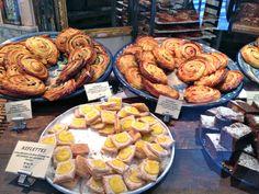 Du Pain et Des Idées, Canal Saint-Martin, the best boulangerie in Paris says Caroline.