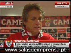 """Benfica Campeão 2013/14. Jorge Jesus """"Foi trabalho de muita gente que se acarditou que era possível"""""""