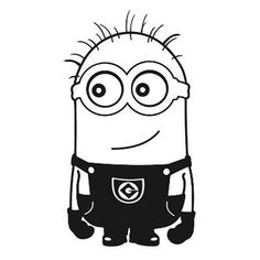 Despicable Me Minion Laptop Car Truck Vinyl Decal Window Sticker PV134