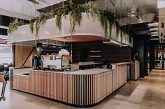 Award-winning coworking space by Corso Interior Architecture Architecture Design Coffee Shop Design, Cafe Design, Commercial Design, Commercial Interiors, Bar Beton, Deco Restaurant, Restaurant Counter, Cafe Counter, Foodtrucks Ideas