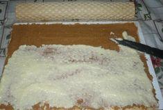 Pregatire Rulada de napolitane cu crema de nuca de cocos Coco, Ale, Caramel, Grains, Cheesecake, Desserts, Pain Au Chocolat, Sticky Toffee, Tailgate Desserts