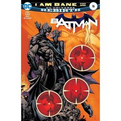 Batman (2016-) #16 Written by Tom King Pencils David Finch Inks David Finch Colored by Jordie Bellaire Cover by Jordie Bellaire David Finch Danny Miki I Am Bane part one! Bane is coming for Batman. Bruce must keep those he loves safe for five days in order to save Gotham Girl once and for all. But Bane will stop at nothing and no one is safe.