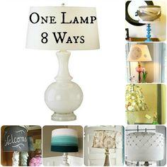 diy lampshade ideas - Google Search