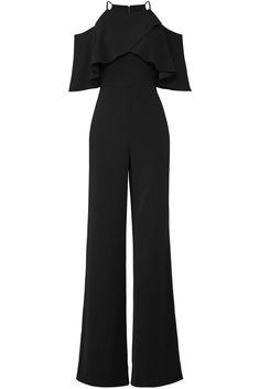 61db5160099d ... Black Women s Size 0 Popover Cold-Shoulder Jumpsuit  595-  778  fashion   clothing  shoes  accessories  womensclothing  jumpsuitsrompers (ebay link)