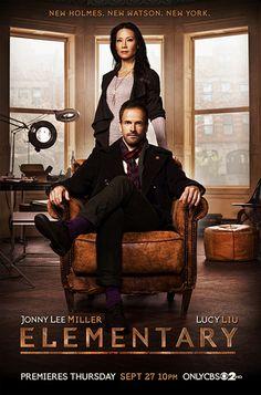 elementary cbs 2012 season 1 poster. Love this show. New Watson. New Holmes. New York.