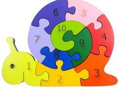 Caracol com números
