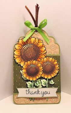 Scrappy Sweet Creations: In Love With Sunflowers