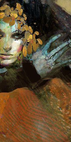 "Saatchi Online Artist: Suhair Sibai; Paint, 2012, Mixed Media ""Loved!"""