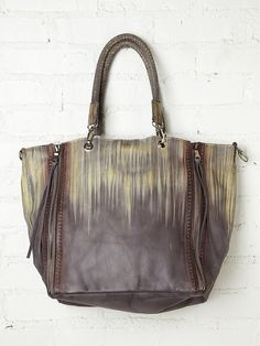 really wish all these bags had a vegan version.. Free People River Run Tote, $398.00