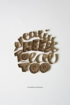 Creatives Need To Eat Too! on Typography Served