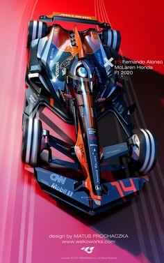 ArtStation - Fernando Alonso F1 2030, Matus Prochaczka