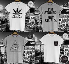 CANNABIS T SHIRT COLLECTION MARIJUANA SMOKE WEED EVERYDAY GANJA 420 POT TOP NEW  #420