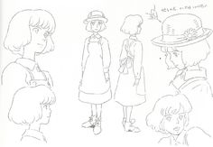 """""""The Wind Rises 風立ちぬ""""   © Studio Ghibli* • Blog/Website   (www.ghibli.jp) ★    CHARACTER DESIGN REFERENCES™ (https://www.facebook.com/CharacterDesignReferences & https://www.pinterest.com/characterdesigh) • Love Character Design? Join the #CDChallenge (link→ https://www.facebook.com/groups/CharacterDesignChallenge) Share your unique vision of a theme, promote your art in a community of over 100.000 artists!    ★"""