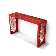 "Arktura Hive Console Table & Reviews | WayfairOverall: 30"" H x 50"" W x 14"" D"