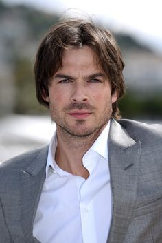 Ian Somerhalder on a bad hair day, but still so sexy- Photocall for Azzaro Pour Homme - May 21, 2015