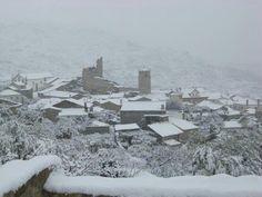 Castelo Novo under snow