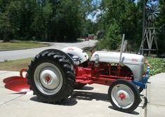 I put back together a broken rusted 1951 Ford 8N tractor in mechanics an made the thing like new.