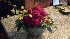Celosia & Oncidium mix - http://www.laurelstreetflowers.com/wp-content/uploads/2013/10/wpid-20131005_152533.jpg -   - http://www.laurelstreetflowers.com/celosia-oncidium-mix/