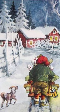 Swedish Christmas card