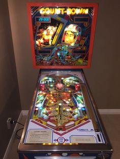 Gottlieb Count-Down Pinball Machine #Gottlieb