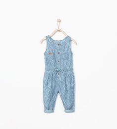 Long denim jumpsuit-Baby girl-NEW THIS WEEK | ZARA United States