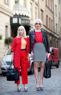 Street Style Spring 2013 - Stockholm Fashion Week Street Style - Harper's BAZAAR
