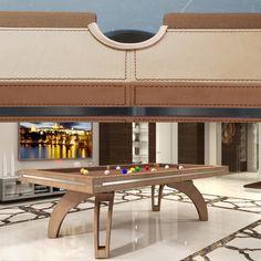 http://www.biliardietrusco.com/en/product-categories/billiards-modern-table/p40-line/prodotto/p-40-in-cuoio-cucito.html #billiards #pool #madeinitaly