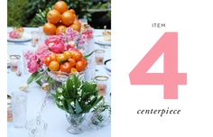 How to Style a Wedding Table // Styling by Anne Book // Item Four: The Centerpiece