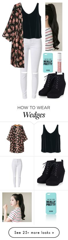 """You're Like Really Pretty."" by forevercrazyfashiondivas on Polyvore featuring MANGO, GABALNARA, women's clothing, women's fashion, women, female, woman, misses and juniors"