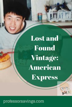 Lost and Found Vintage: American Express #american #express #credit Click=>> http://professorsavings.com/lost-and-found-vintage-making-the-most-of-small-business-saturday-american-express/?utm_content=buffer35244&utm_medium=social&utm_source=pinterest.com&utm_campaign=buffer