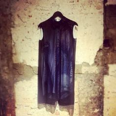 Black beauty by #acne for #tenuedenimes #mesdames - thank you @lindalme #denim #indigo #style