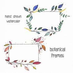Frame ideas for your bullet journal! My Journal, Bullet Journal Inspiration, Doodles, Envelope Art, Mail Art, Doodle Art, Hand Lettering, Diy And Crafts, How To Draw Hands