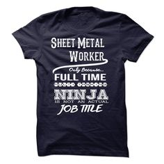 Ninja Sheet Metal Worker T-Shirt T Shirt, Hoodie, Sweatshirt