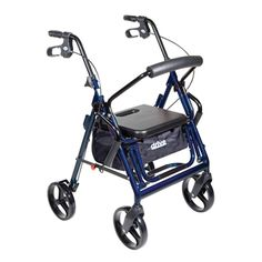"""Drive Medical """"Duet"""" is a Transport #Wheelchair AND #Rollator Combined Into ONE Device 