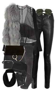 """""""Untitled #3410"""" by lily-tubman ❤ liked on Polyvore featuring Acne Studios, BCBGMAXAZRIA, Isabel Marant, Chloé, Stuart Weitzman, Yves Saint Laurent, Topshop and Mulberry"""
