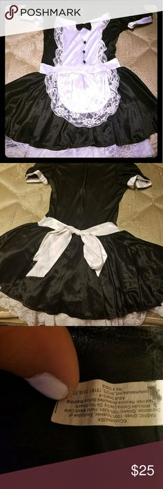 Halloween French maid costume Sexy French maid costume worn once. Sz 1-2 (small) Other