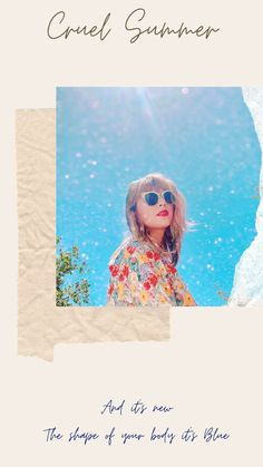 Taylor Swift Tumblr, Taylor Swift Music, Taylor Swift Fan, Katy Perry, Taylor Songs, Taylor Swift Wallpaper, Shape Of Your Body, Music Express, New Romantics
