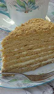 Medovie/ Honey Layer Cake, Dasha's Birthday Cake :) It tastes like HEAVEN!