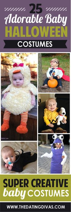 Darling Halloween costume ideas for babies