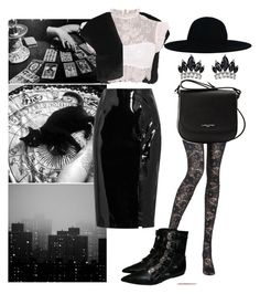 """Witchy Woman"" by lindseyrose4 ❤ liked on Polyvore featuring C.R.A.F.T., L.K.Bennett, Topshop Unique, Fallon, Pierre Mantoux and Lancaster"