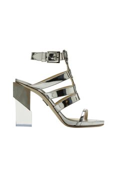 Silver Shoes - Metallic Heels, Flats, and Sandals