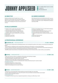 Resume Template With Photo Modern Resume By Resumetemplatestudio