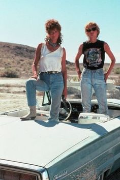 Denim style icons: Thelma and Louise