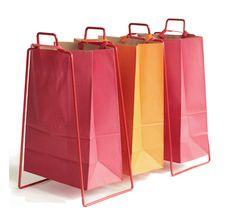 Support pour sac en papier