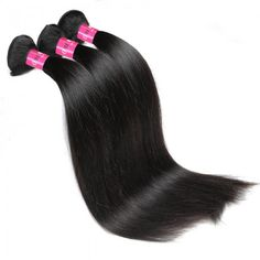 Indian Hair Weave Straight Weave Remy Human Hair Weave 3 Bundles Best Human Hair Extensions For Black Women #hairbundles #besthairextensions #straightweave