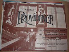 Providence (UK Quad).  Director: Alain Resnais (1977). Stars: Dirk Bogarde, Ellen Burstyn, John Gielgud