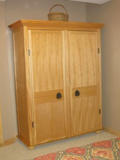 Made from b-grade hemlock shaker style doors Vintage Armoire, Shaker Style Doors, Furniture, Home Decor, Antique Armoire, Decoration Home, Room Decor, Home Furnishings, Home Interior Design