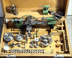 Andrä & Zwingenberger Lathes Milling Machine, Machine Tools, Turret Lathe, Industrial Machine, Maker Shop, Garage Workshop, Mechanical Engineering, Cool Tools, Dremel